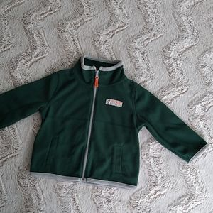 Green Fleece Carter's Jacket